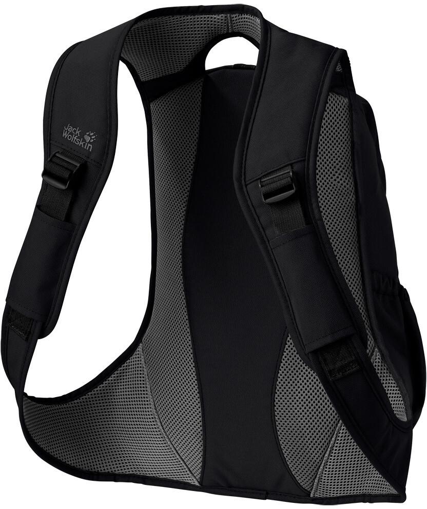 jack wolfskin ancona backpack damen black online bei. Black Bedroom Furniture Sets. Home Design Ideas